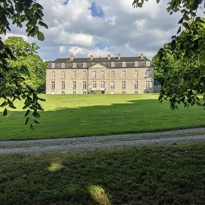 Le château de la Houssaye (Propriété privée)