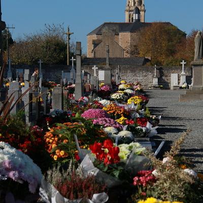 Le funéraire sur la commune de Quessoy