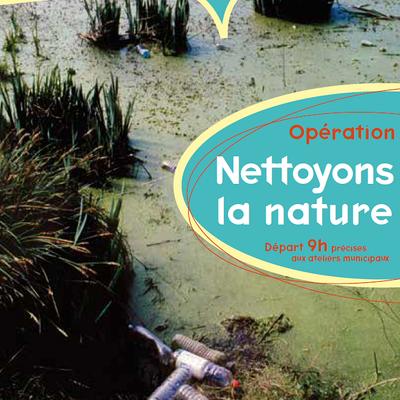 """Nettoyons la nature"", samedi 25 mars"