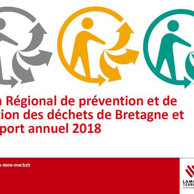 Rapport annuel du Service Public d''élimination des déchets 2018