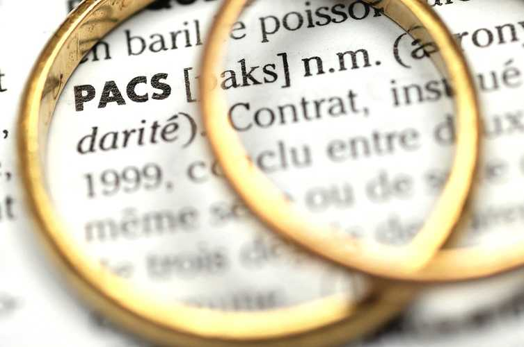 Pacte civil de solidarité (PACS) 0