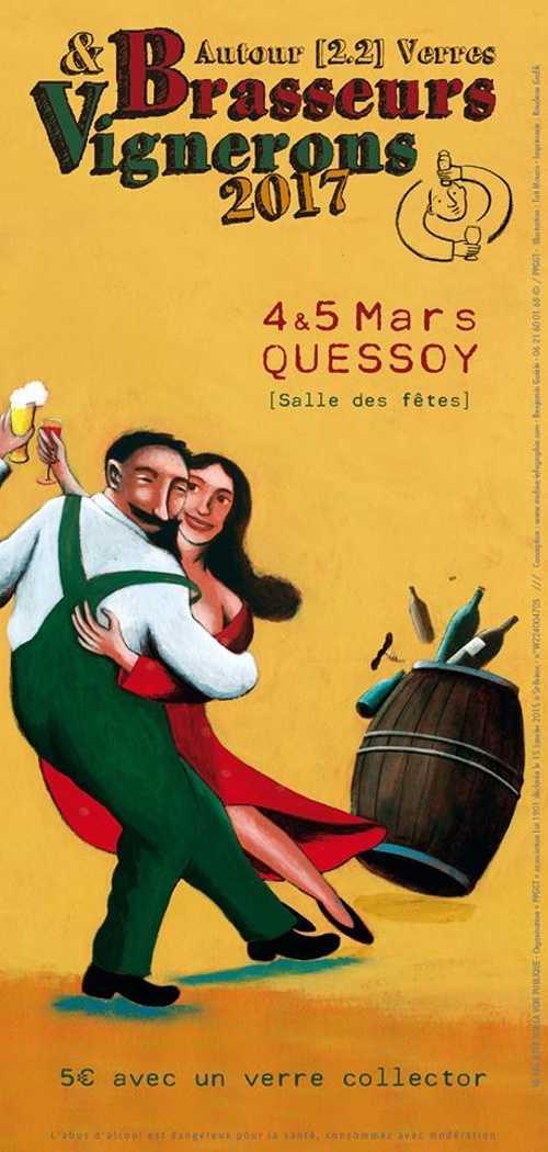 Brasseurs & Vignerons « Autour [2.2] Verres » Samedi 4 et Dimanche 5 Mars, salle Armor 0