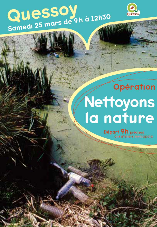nettoyons la nature , samedi 25 mars