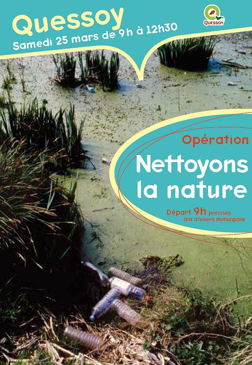 """Nettoyons la nature"", samedi 25 mars 0"