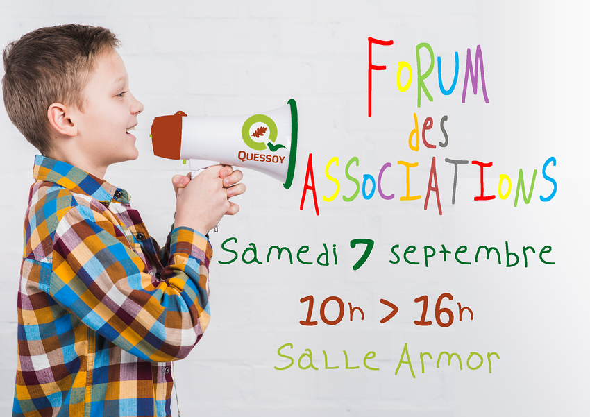 forum des associations : samedi 7 septembre