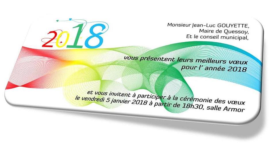 Meilleurs vœux pour 2018 0