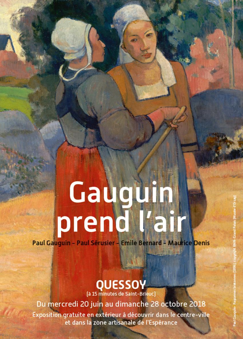 gauguin prend l'air du 20 juin au 28 octobre 2018