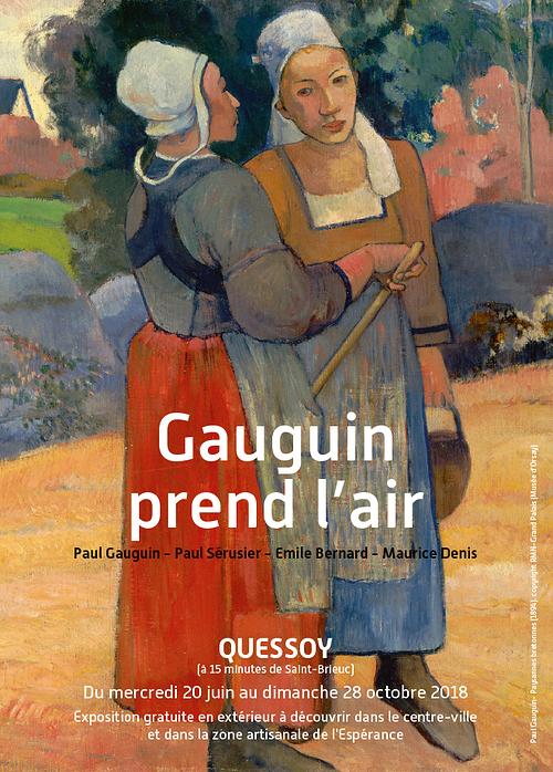 """""""Gauguin prend l'air"""" du 20 juin au 28 octobre 2018 0"""
