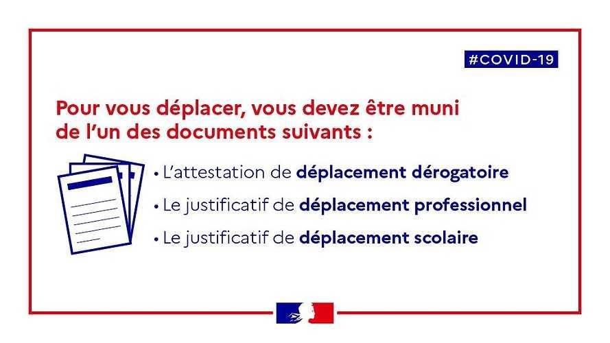 {COVID 19]ATTESTATION DE DÉPLACEMENT DÉROGATOIRE (maj 28/11/2020) 0
